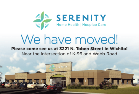 Serenity Home Health and Serenity Hospice Care Move to New Headquarters in the Webb and K-96 Medical Corridor