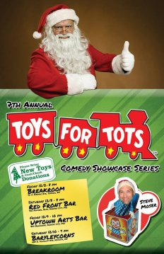 Toys for Tots Comedy