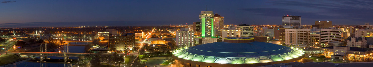 Downtown Wichita Skyline