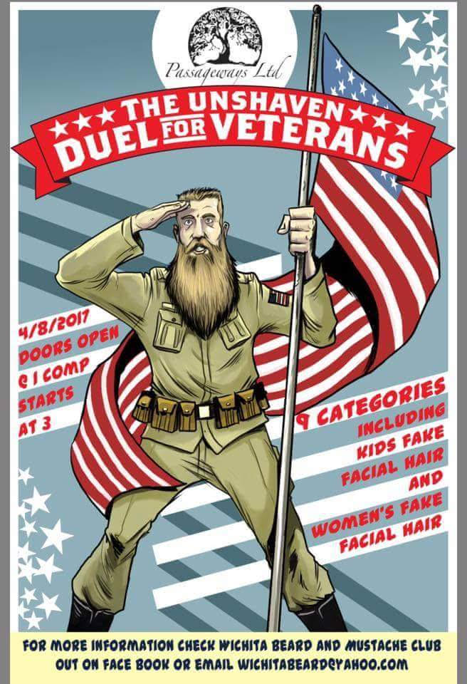 Local Facial Hair Competition Will Benefit Homeless Veterans