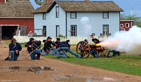 Civil War Returns to Old Cowtown Museum