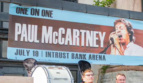 Paul McCartney to Come to INTRUST Bank Arena