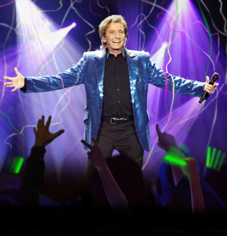 Manilow Hospitalized, Wichita Concert Still On