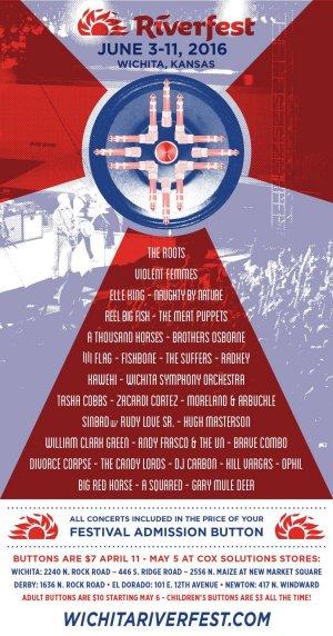 Riverfest Announces Music Lineup for 2016