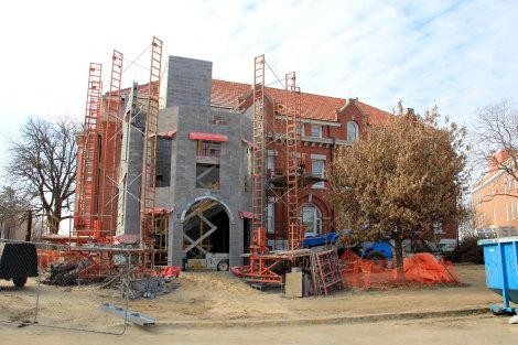 WSU's Fiske Hall to Become ADA Compliant
