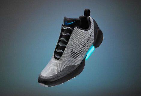 Self-Lacing Shoes Are Here