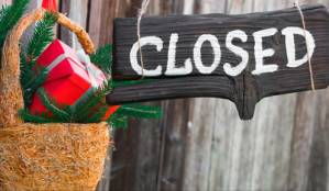 City Closures and Cancelations for the Holidays