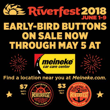 Riverfest Early-Bird Buttons Now on Sale