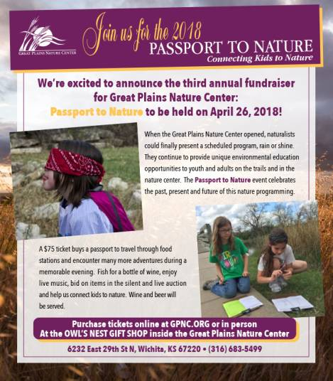 Passport to Nature Benefits Great Plains Nature Center