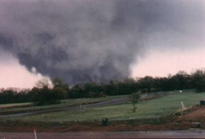 Tornadoes in Forecast  for Early Next Week