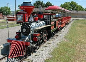 O.J. Watson Park to Debut New Train