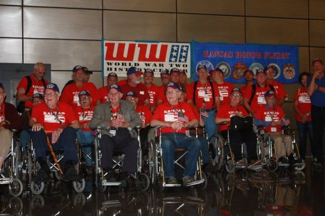 Kansas Honor Flight to Leave Wednesday