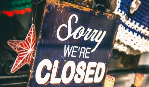 Holiday Closures and Hours