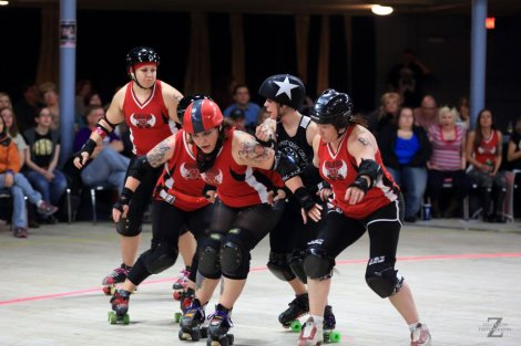 ICT Roller Girls to Host WFTDA Playoffs