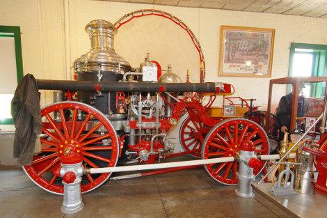 Historic Fire Engine