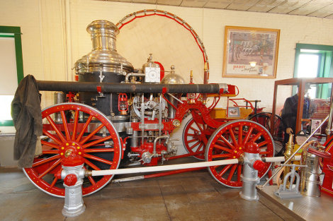Historic Fire Engine