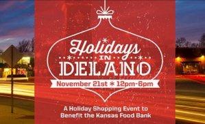 Holidays in Delano to Benefit Kansas Food Bank