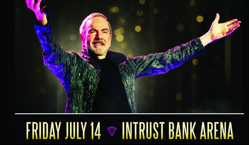 Neil Diamond To Play Intrust Bank Arena in 2017