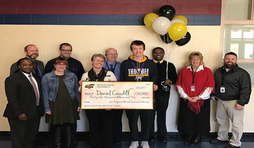South High Student Receives $32,000 WSU Scholarship