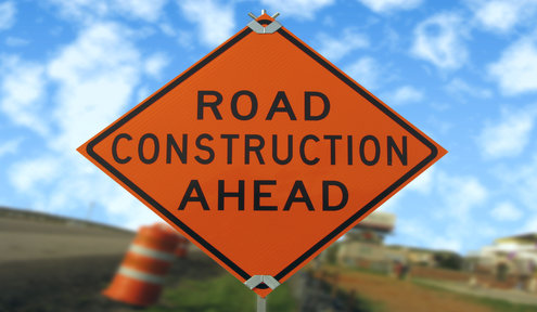 New Construction Projects Begin Feb. 20